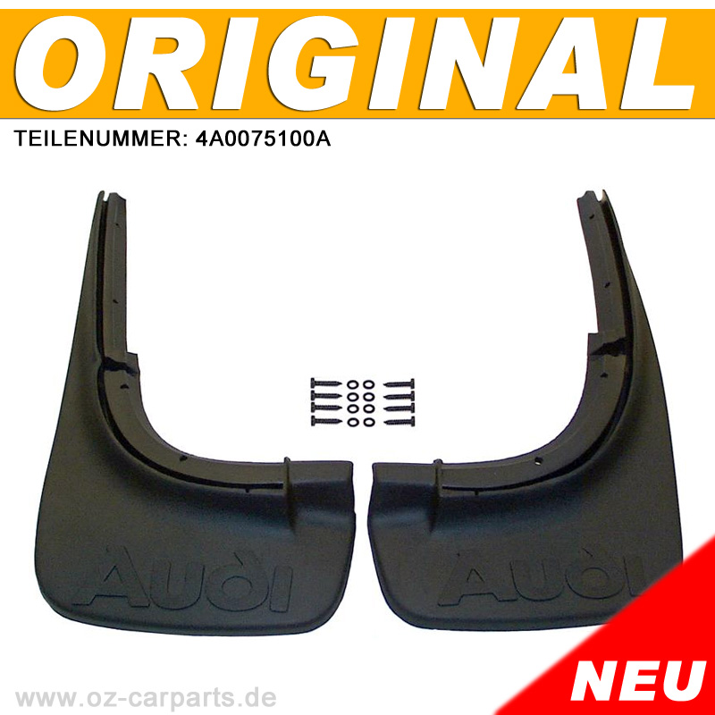Schmutzfaengersatz-Schmutzfaenger-SATZ-HA-ORIGINAL-4A0075100A-fuer-AUDI-A6-4A-C4